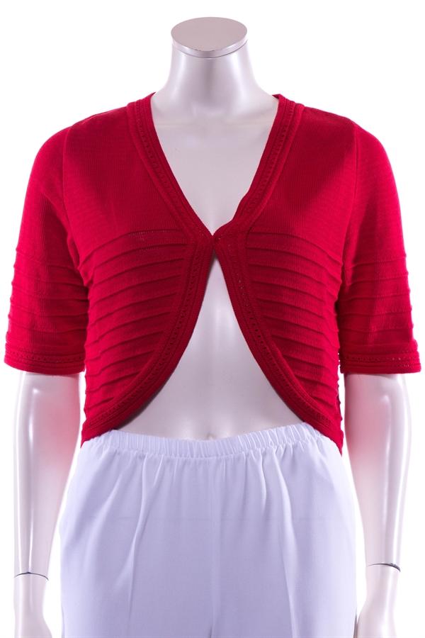 79597bac Skovhuus bolero i rød med korte ærmer | Damernes Butik
