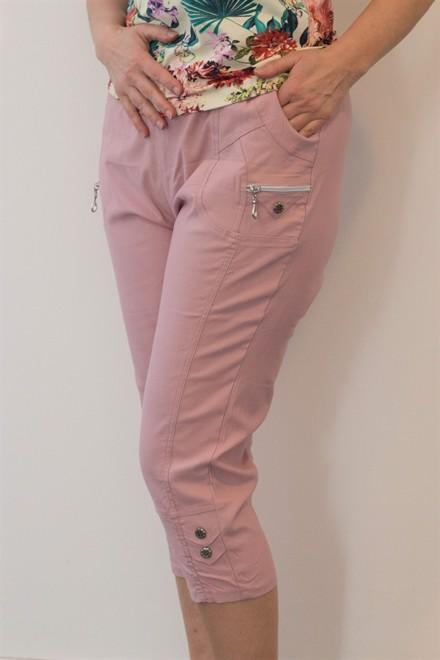 ab68ba1eb685 Damebukser med elastik i taljen til voksne kvinder